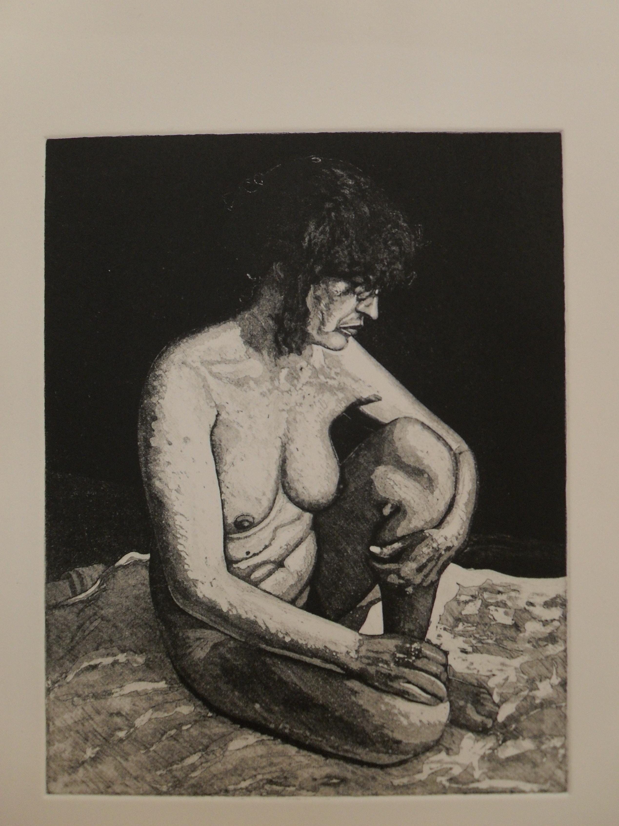 Bridget: Etching and Aquatint 2013 24.5x19.5cm Edition of Eight