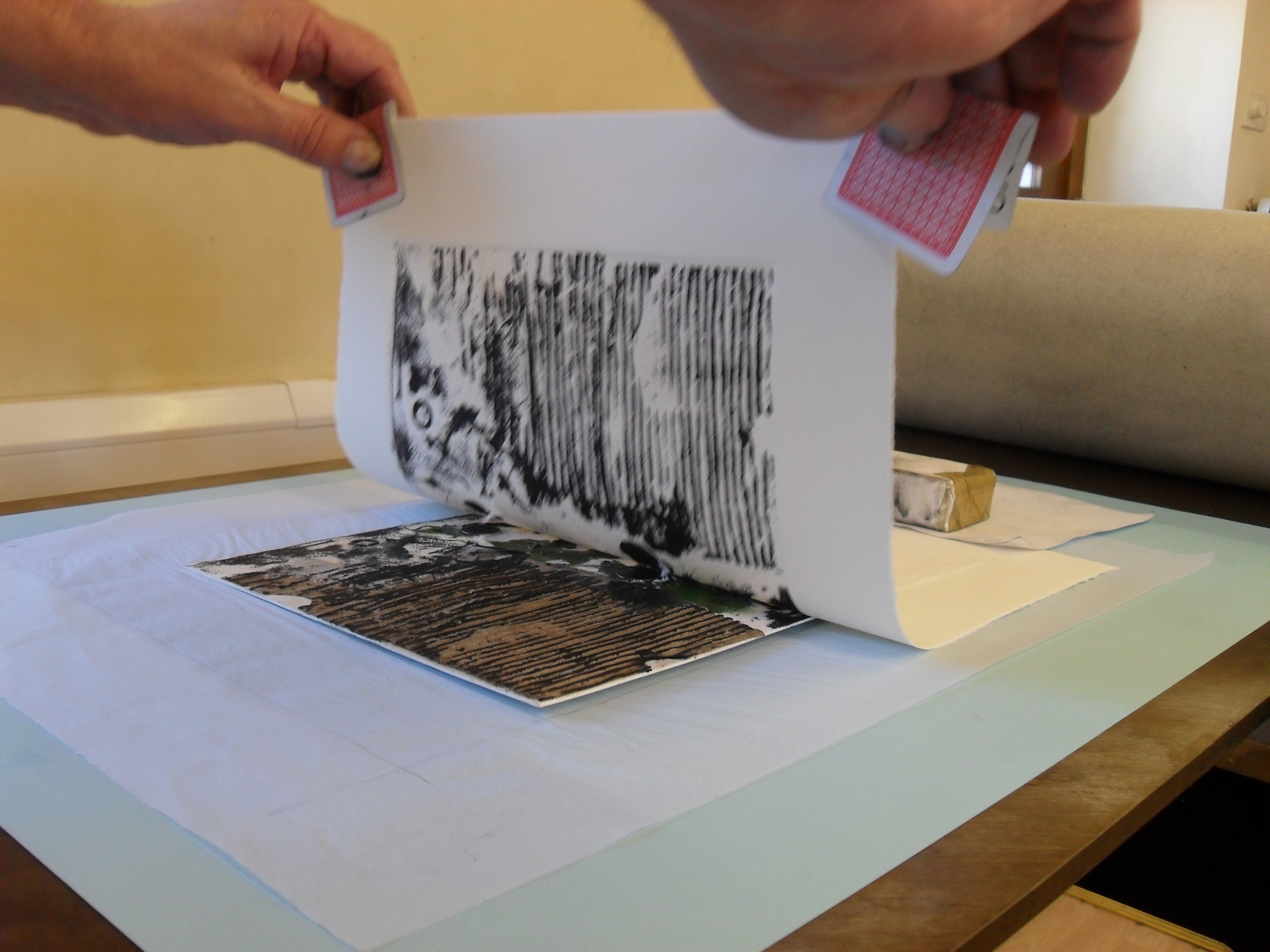 Collagraph unveiling