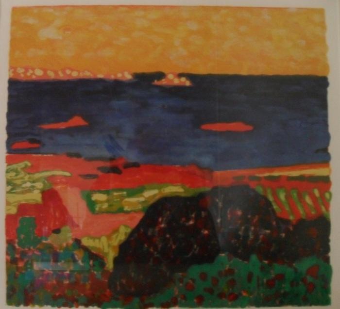 Cote d'Azur: Colour Monotype 2000 47x50cm